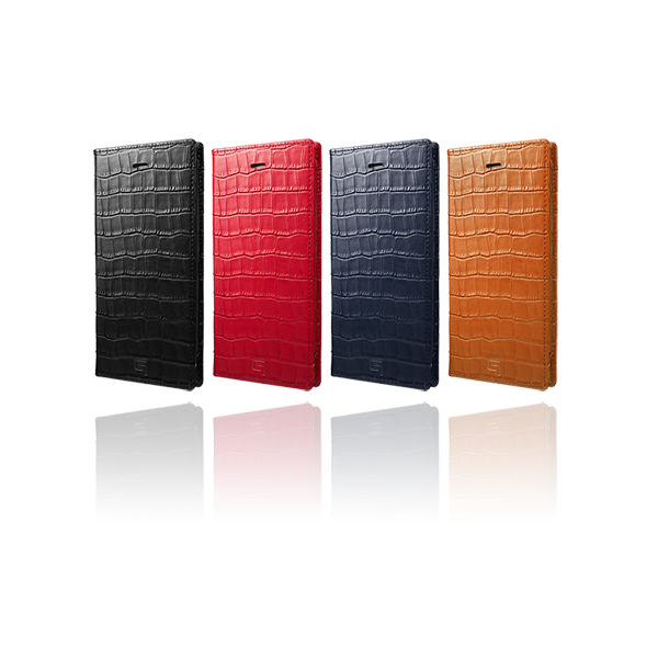 GRAMAS Croco Patterned Full Leather Case GLC6146P for iPhone 7 Plus