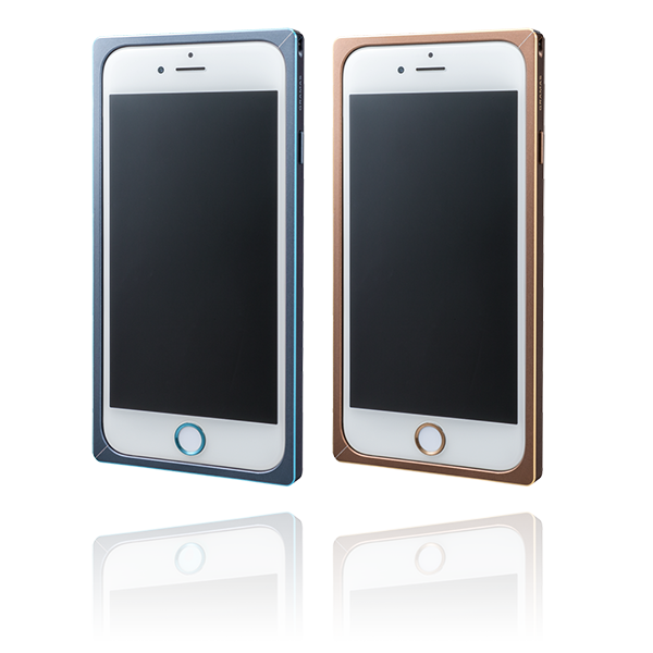 GRAMAS Straight Metal Bumper Limited MB514L for iPhone 6s / iPhone 6