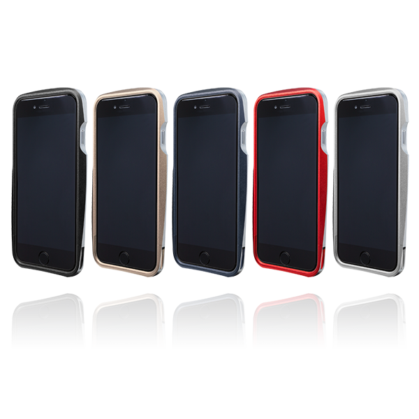 GRAMAS Round Metal Bumper MB524 for iPhone6