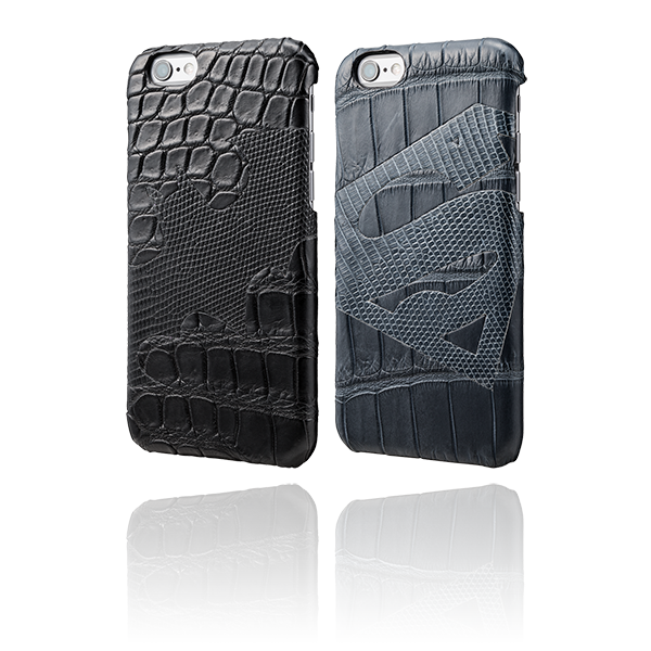 GRAMAS Meister Leather case BATMAN & SUPERMAN MI8096 for iPhone 6s / iPhone 6