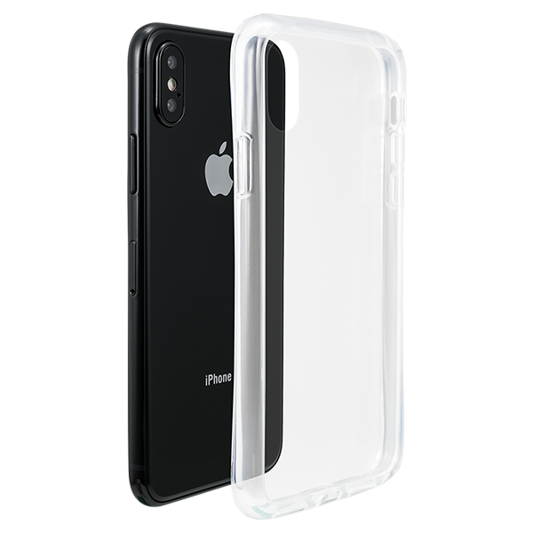 GRAMAS COLORS Glass Hybrid Case CHC-50327 for iPhone X